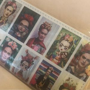 Frida Khalo zipper wallet